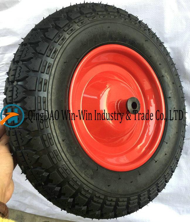 3.50-8/350-8 Pneumatic Rubber Wheel for Hand Truck Wheel