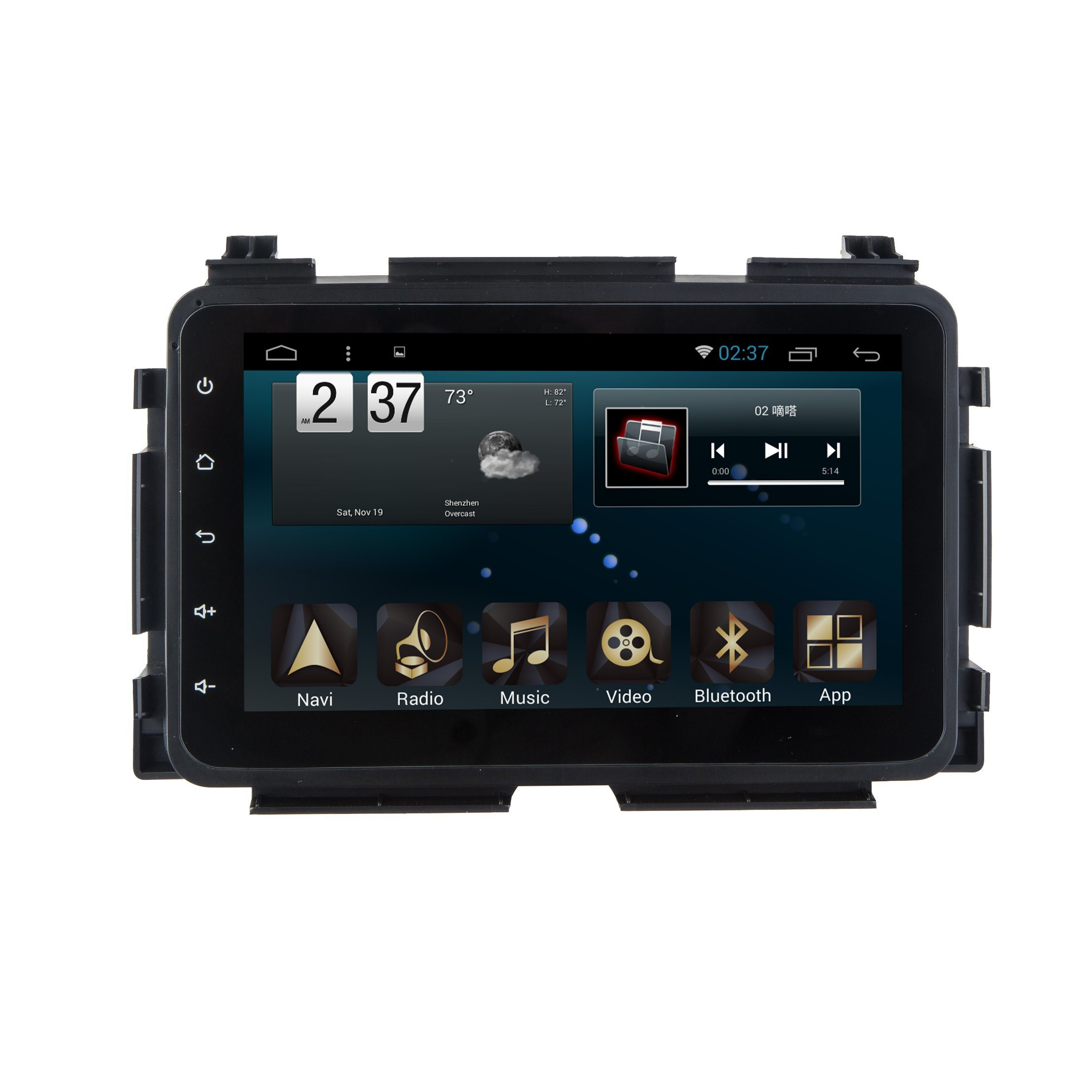 Android 6.0 System for Honda Vezel GPS Navigation Car DVD in Car Video for 8 Inch Capacitance Screen