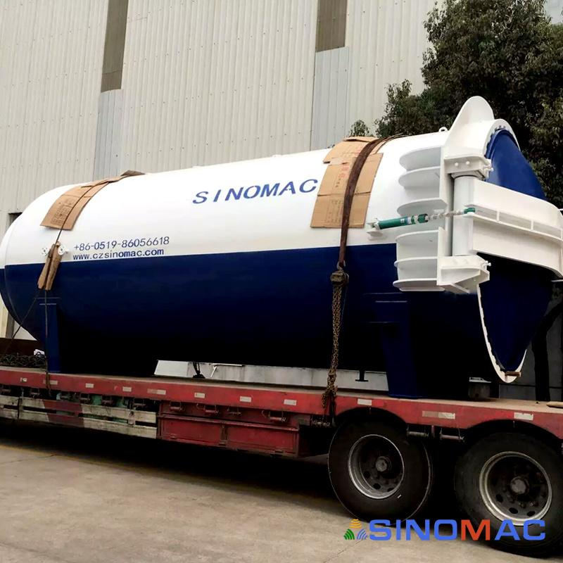 SINOMAC 3000X6000mm Glass Laminated Autoclave (SN-BGF3060)