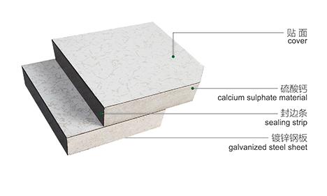 Factory Clean Room Calcium Sulphate Raised Flooring