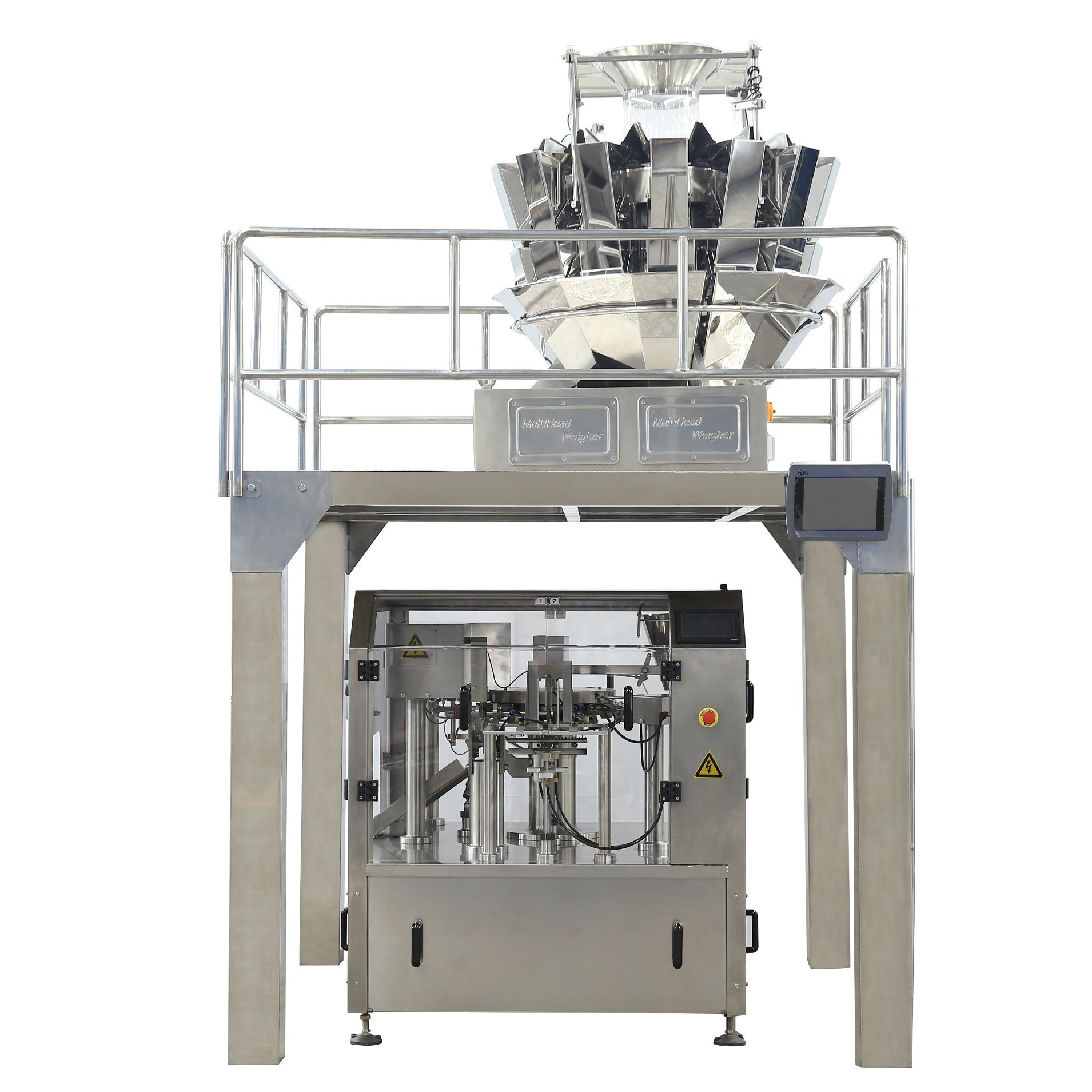 Nuoen Eight Stations Automatic Packaging Machine for Particles/Powder