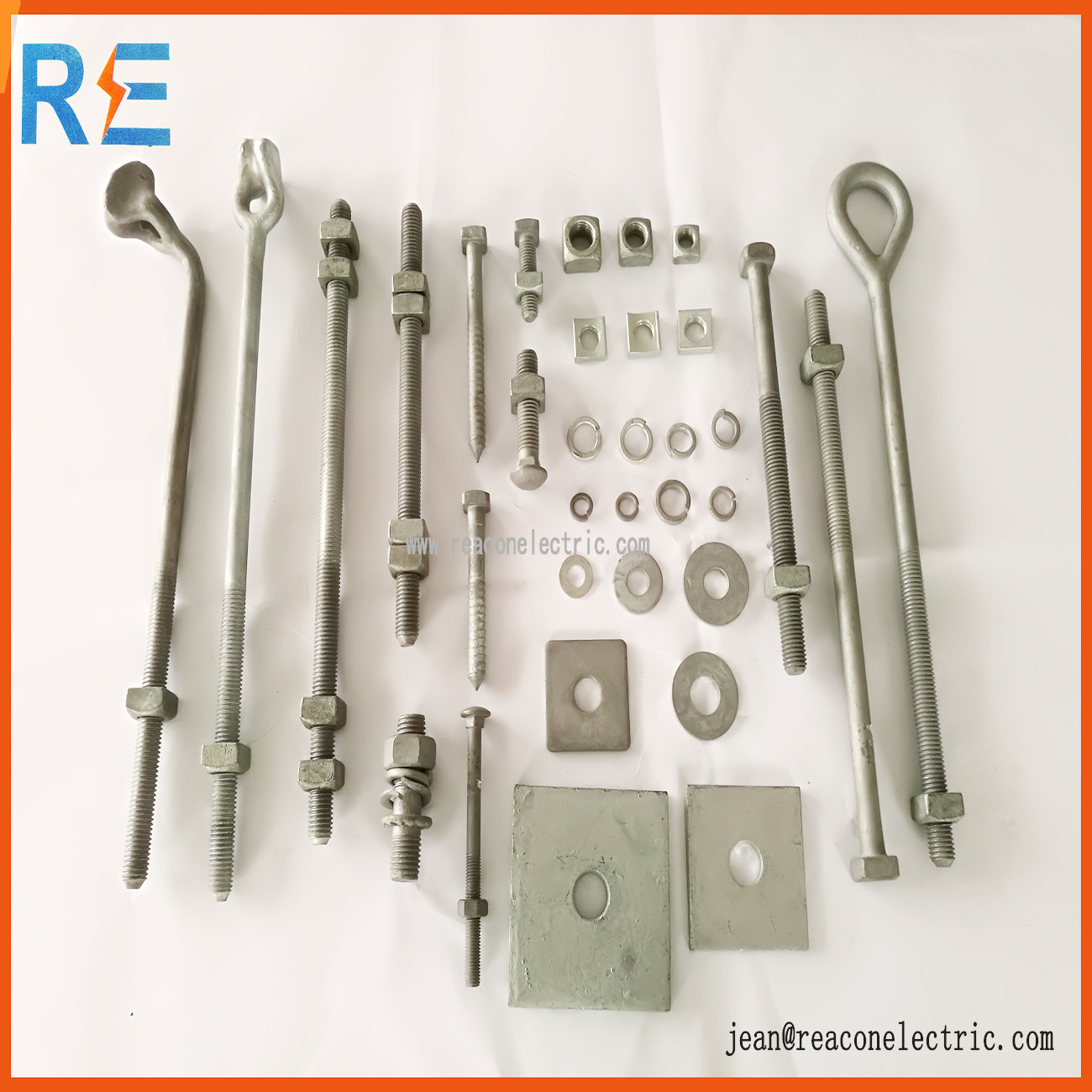 Hot DIP Galvanized Double Arming Bolt