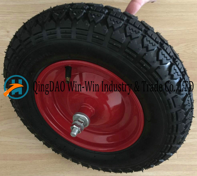 3.50-8/350-8 Pneumatic Rubber Wheel for Hand Truck Wheel