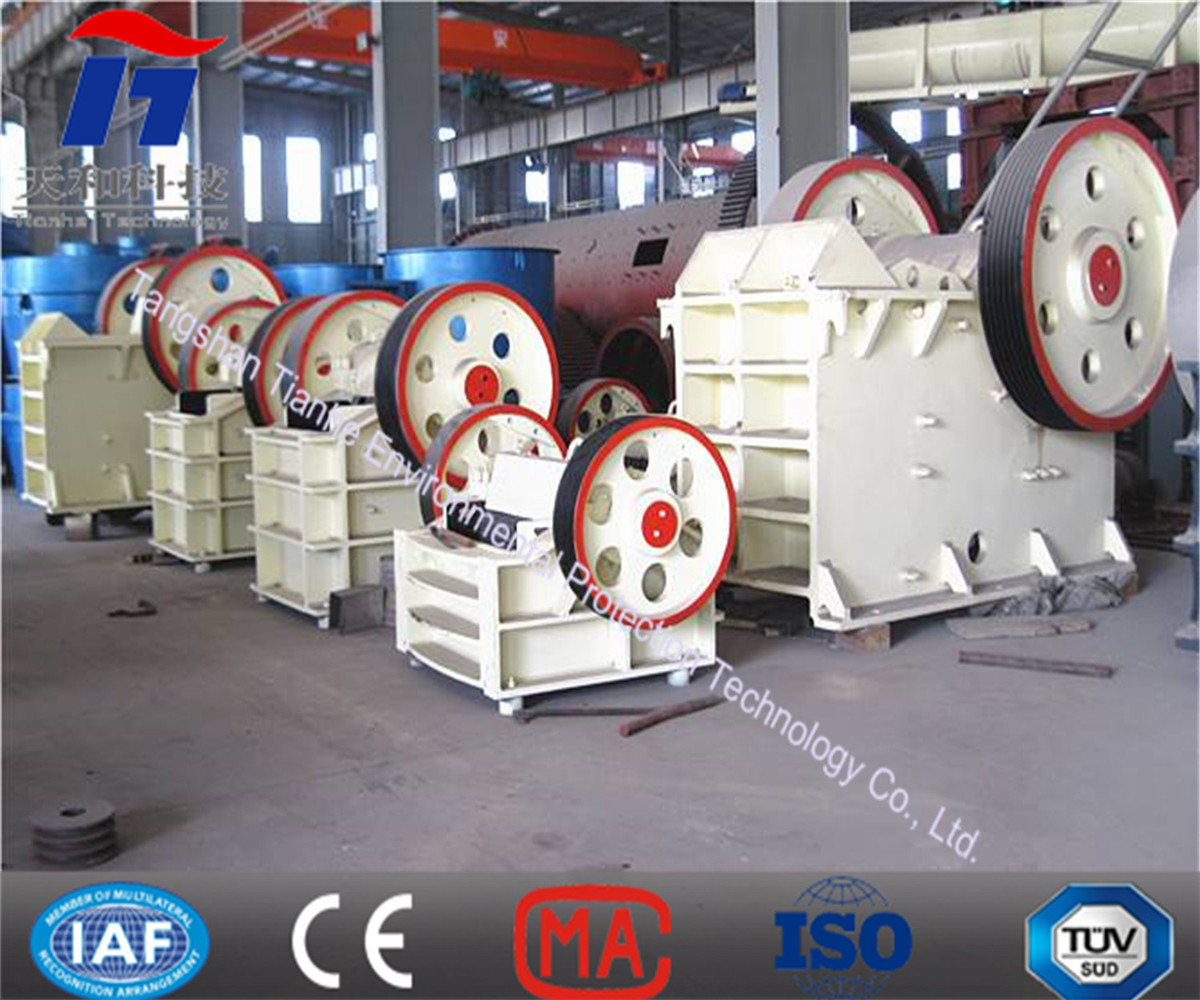 Mining Equipment Machinery Jaw Stone Crusher