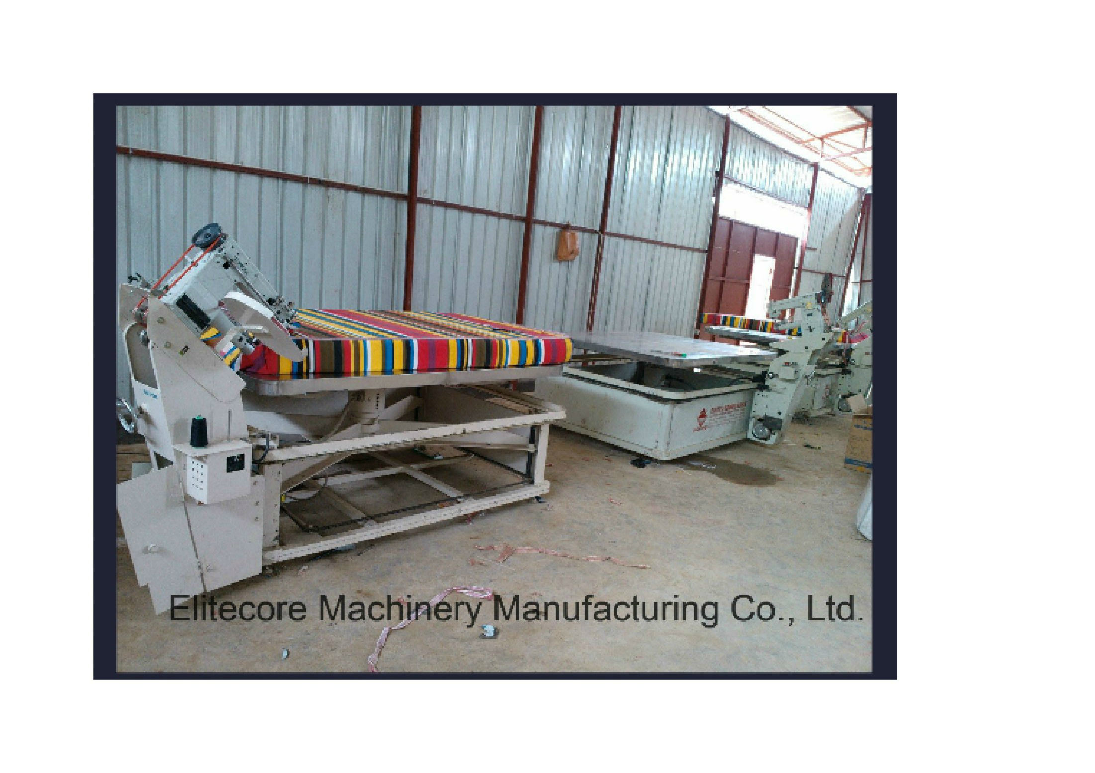 Tape Edge Sewing Machine for Soft Mattress Tent