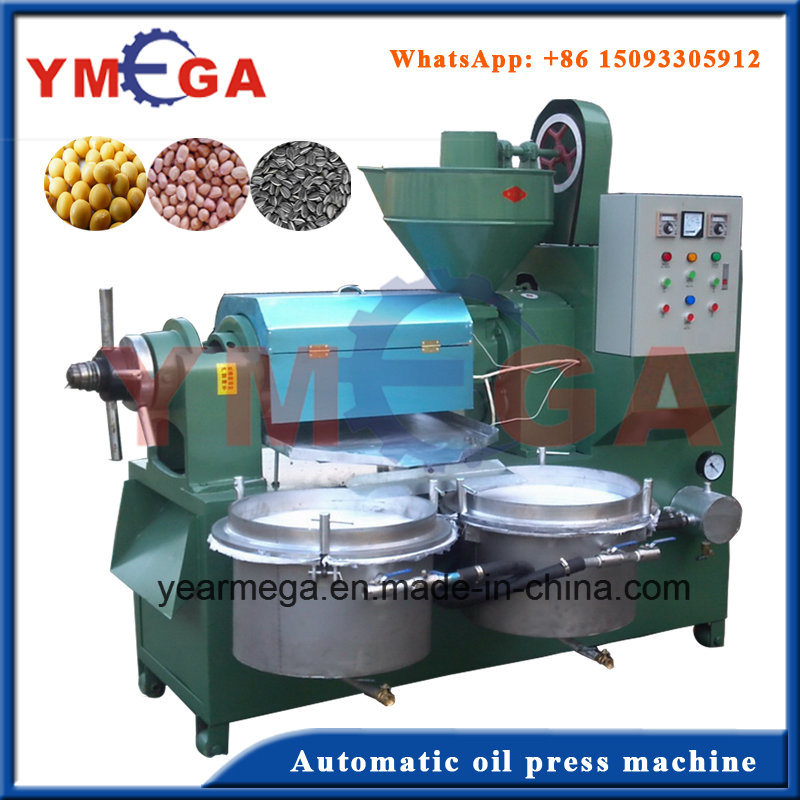 Top Quality Multifunctional Automatic Oil Press Machine for Cooking Oil