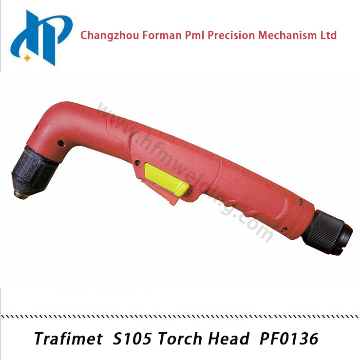 Trafimet S105 Torch Head PF0136 Air Plasma Torch Welding Torch