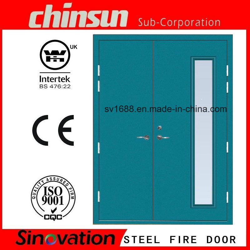 Us Standard Fire Rated Glass Door Steel Door