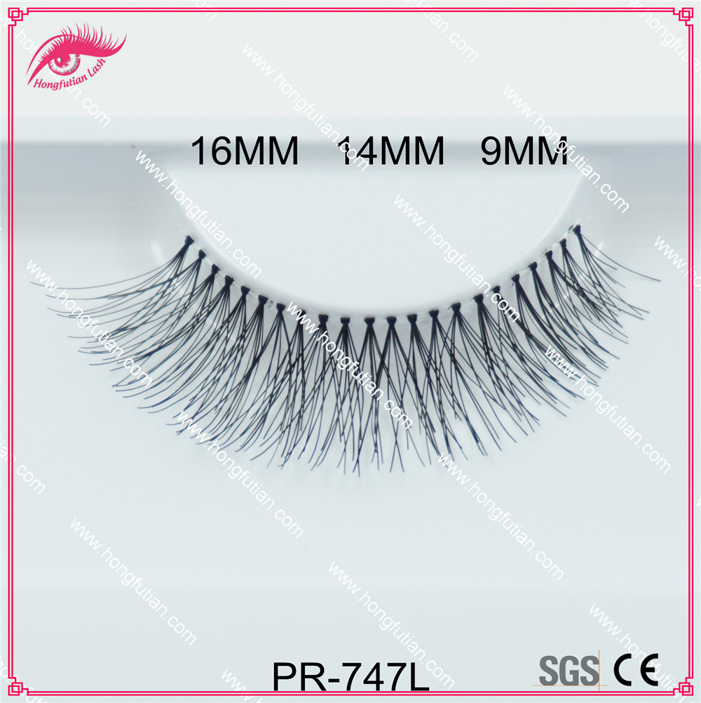 Private Label Human Hair False Eyelash 747 Style Own Brand Eyelashes
