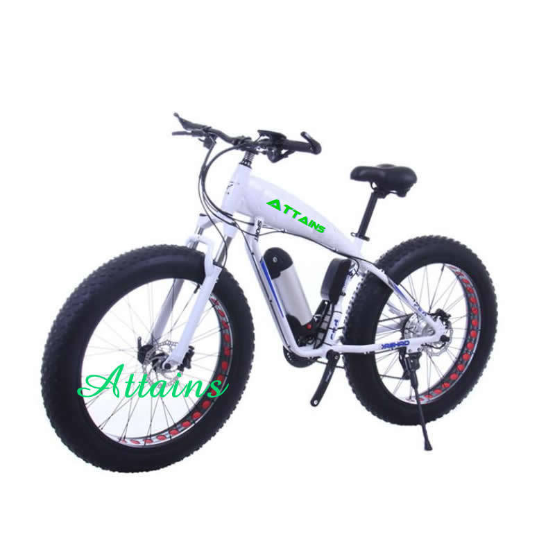 Fat Tire Snow Mountain Sand Beach City E Bike