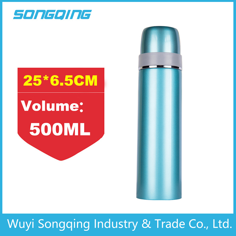 Funky Double Wall Stainless Steel Thermos Vacuum Flask