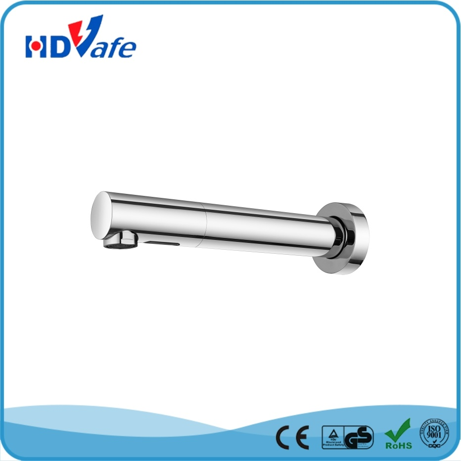 Geeo Wall Mounted Pillar Design Infrared Sensor Water Tap HD5130