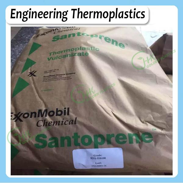 Shore 55A Colorable Specialty TPR Plastics Santoprene 8211-55b100