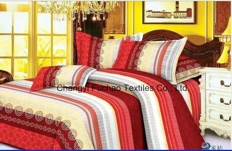 100%Polyester Fabric of The New Bedding Set