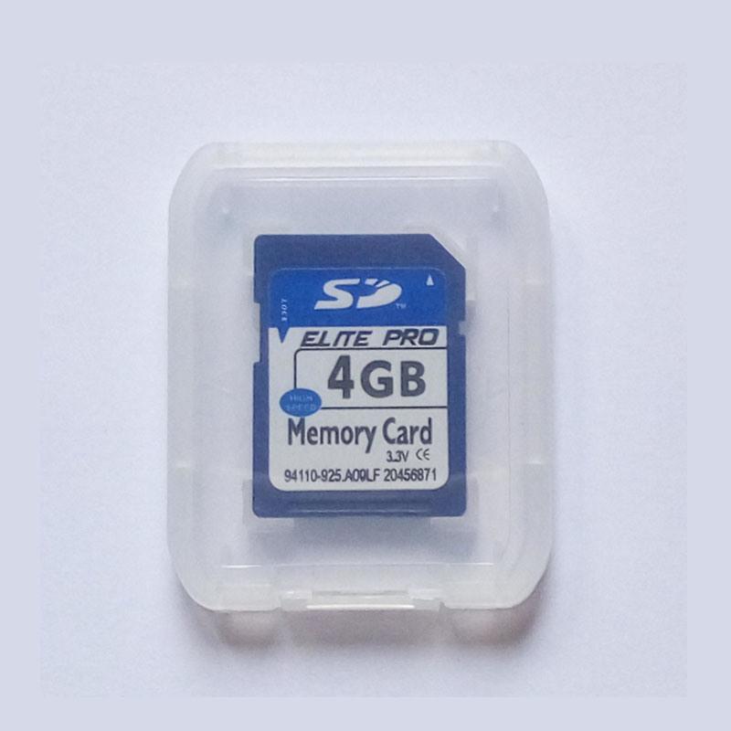 Bulk SD Card 4GB Capacity Camera SD Card Accept Paypal