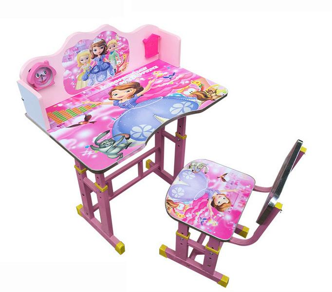 School Furniture Modern Adjustable Study Table Kids Student Desk (HX-SK003)