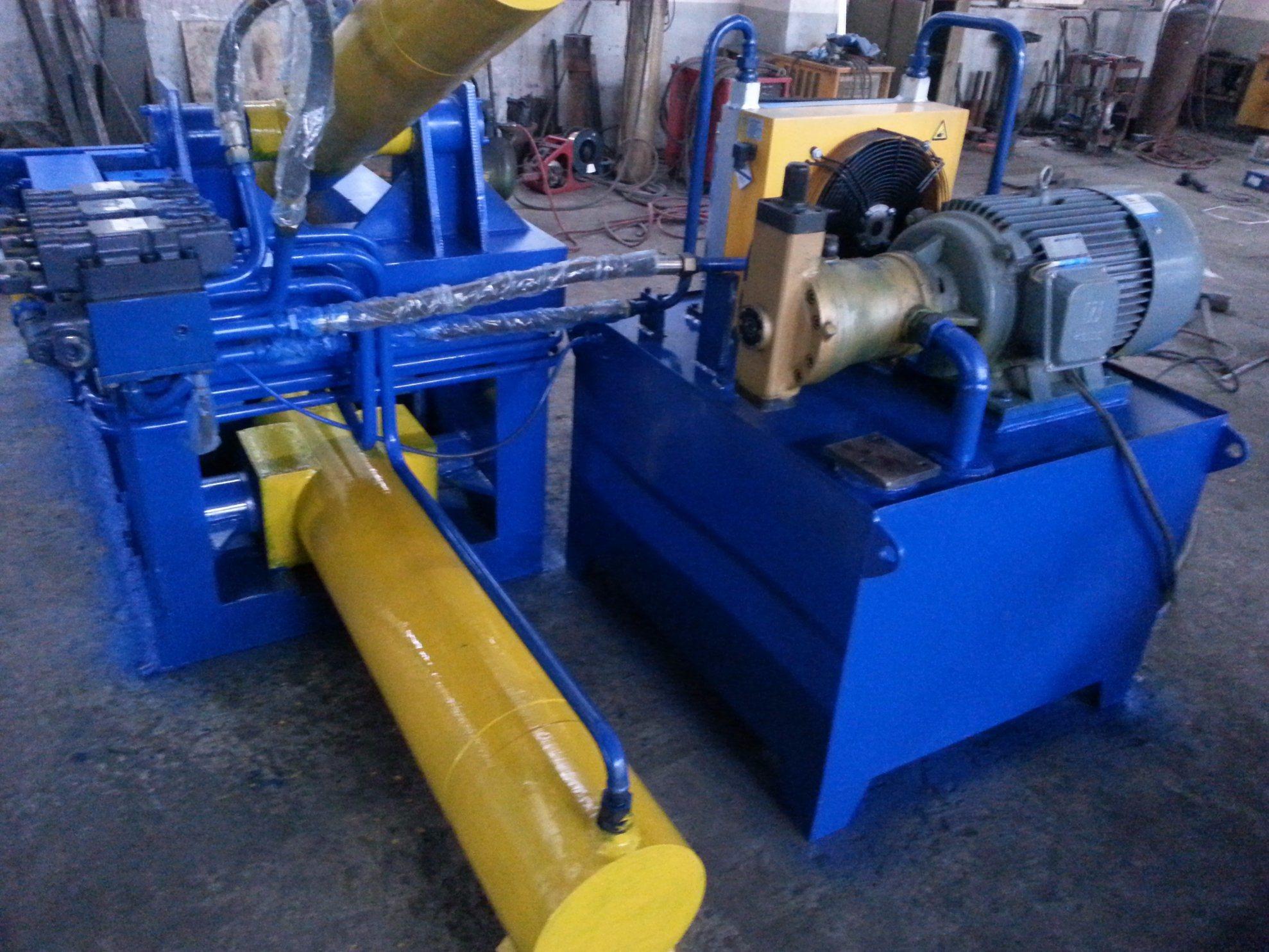 Metal Baler Baling Press Machine Hydraulic Compress Baler