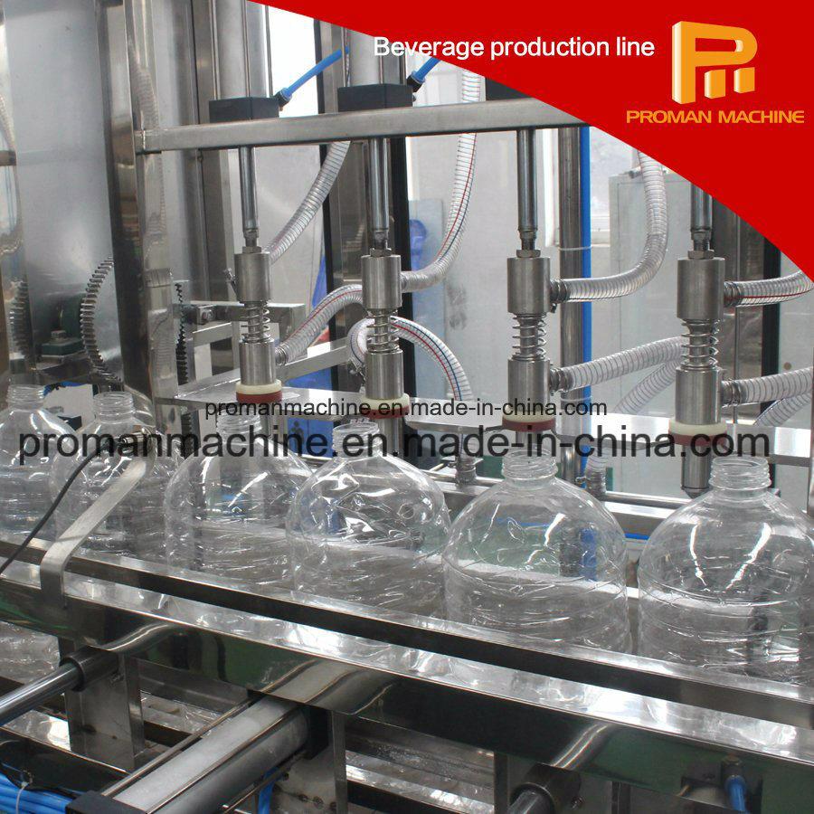 Liner Automatic 3-5L Bottle Liquid Water Filling Machine