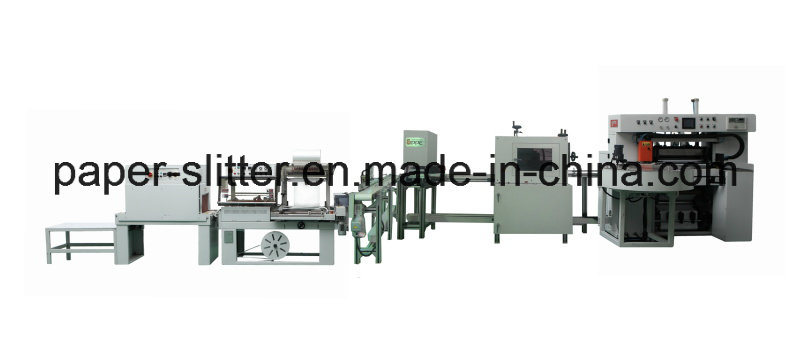 Automatic Paper Slitting Rewinder Packaging Machine