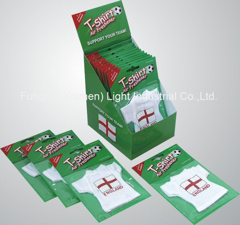 Custom Brand Paper Car Fragrance for Customers