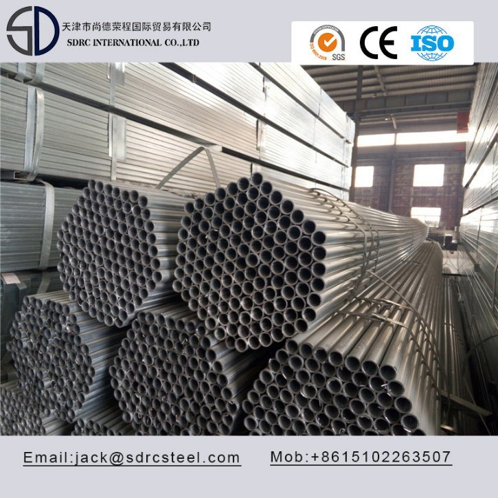 Hot Dipped Galvanized Round Steel Pipe for Lamp Post
