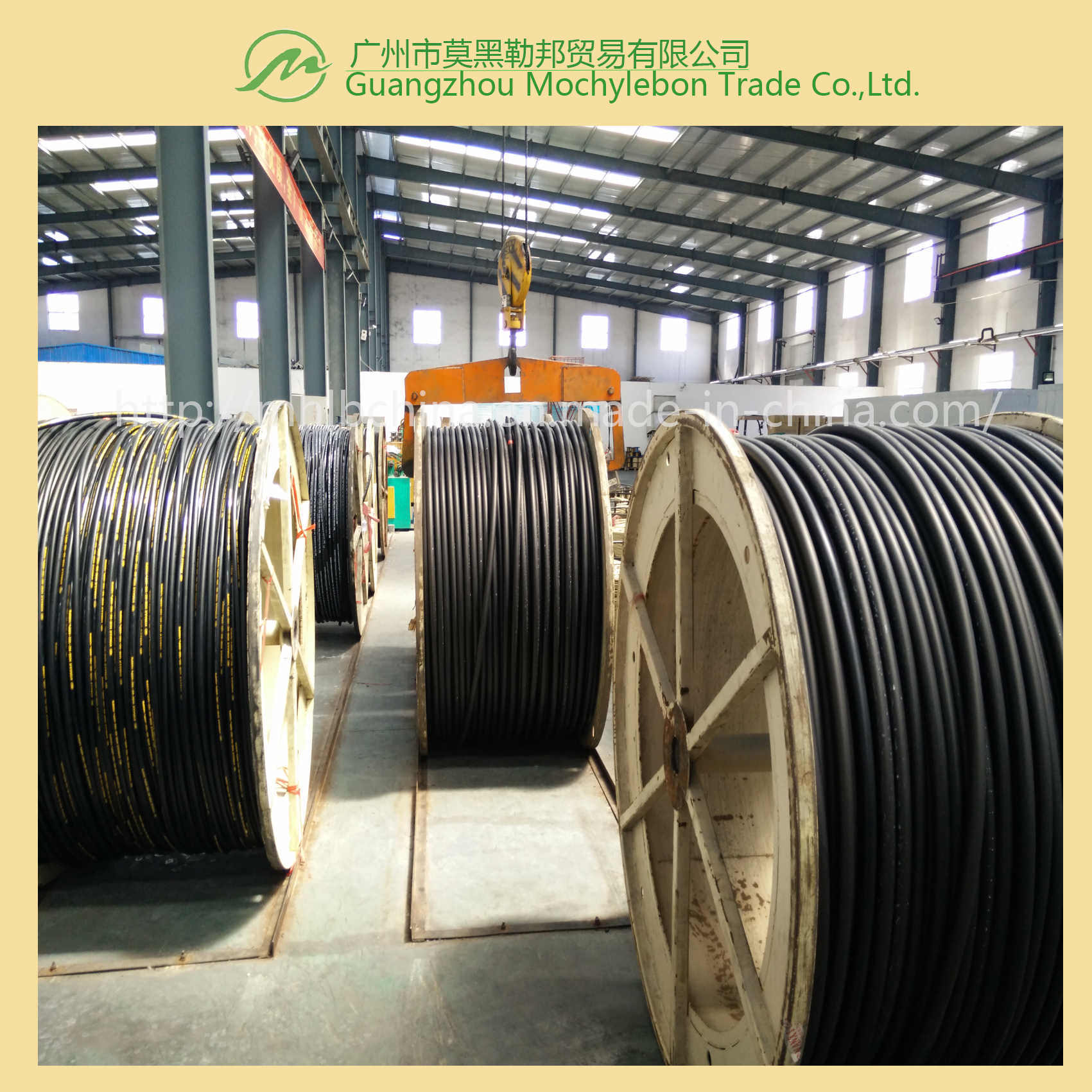 Wire Spiral Hydraulic Hose Fitting (EN856-4SP-1-1/4)