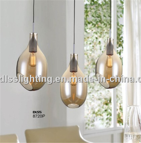 Classic Modern Glass Pendant Lighting for Dining Room