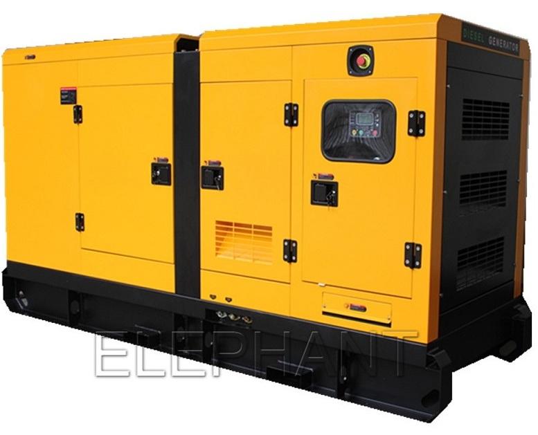 100kVA Elephant Soundproof / Silent Cummins Power Diesel Generator