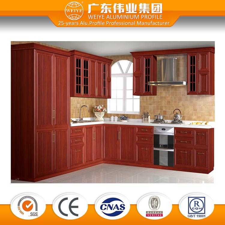 New Product Kitchen Cabinet Made in Aluminium 6063, Customized Design Aluminium Cabinet