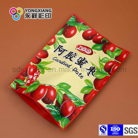 Customized Flexible Snack Food Packaging Printing with Ziplock