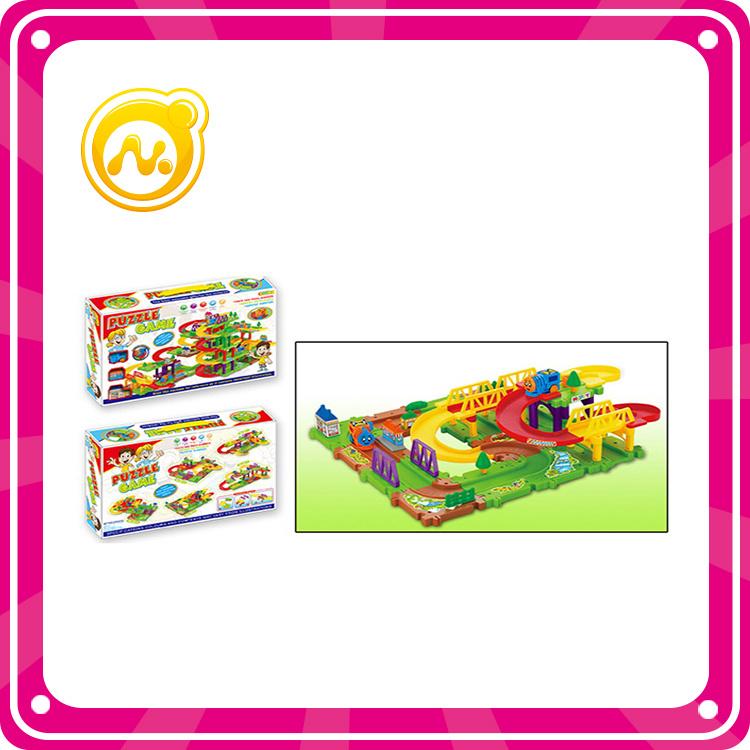 Child Fairground Toy DIY Electric Train Rail
