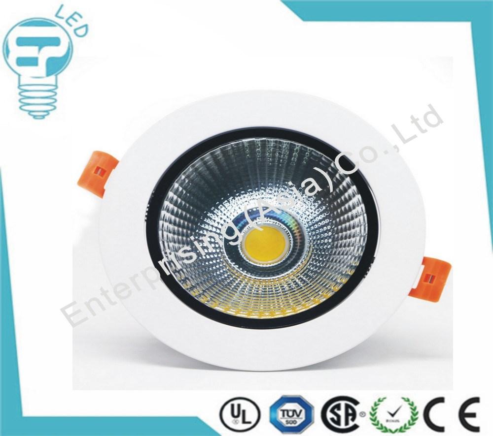 Aluminum Light 18W Lighting COB LED Downlight for Restaurants