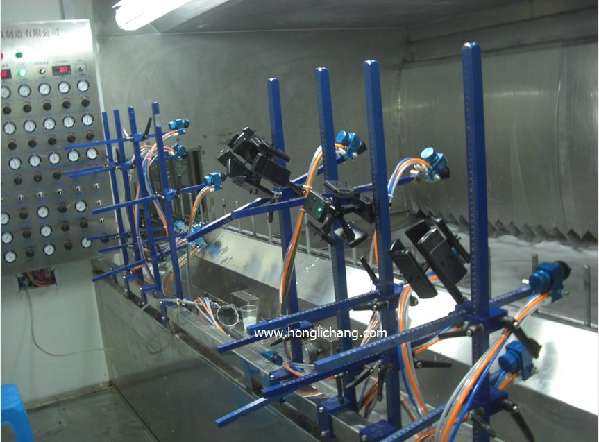 Automatic Vacuum Metallizing UV Spray Coating Line