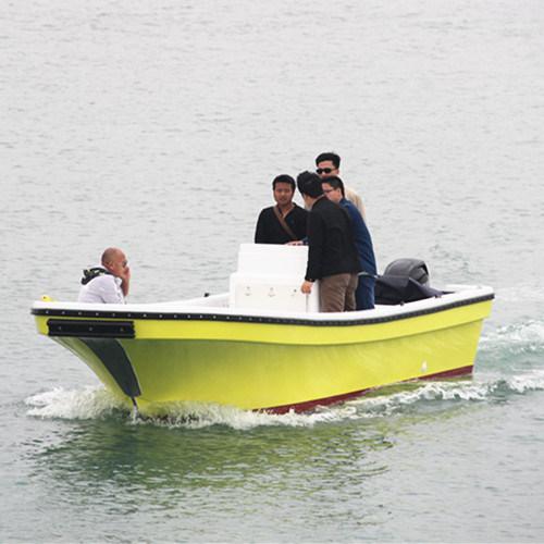23 Feet Top Center Console Inshore FRP Fishing Boat