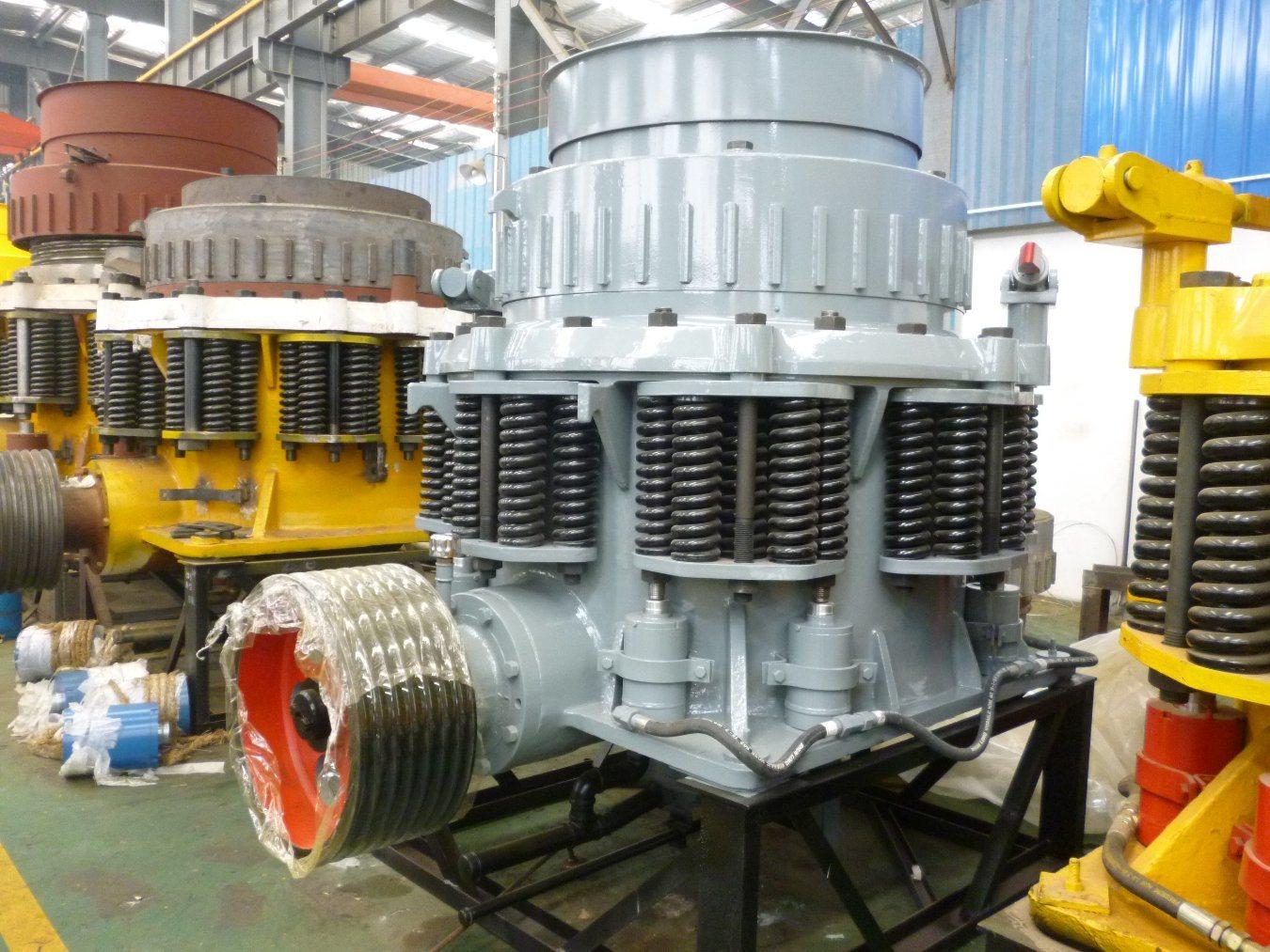 Nordberg Symons Cone Crusher for Copper Ore Crushing Plant in Peru, South America