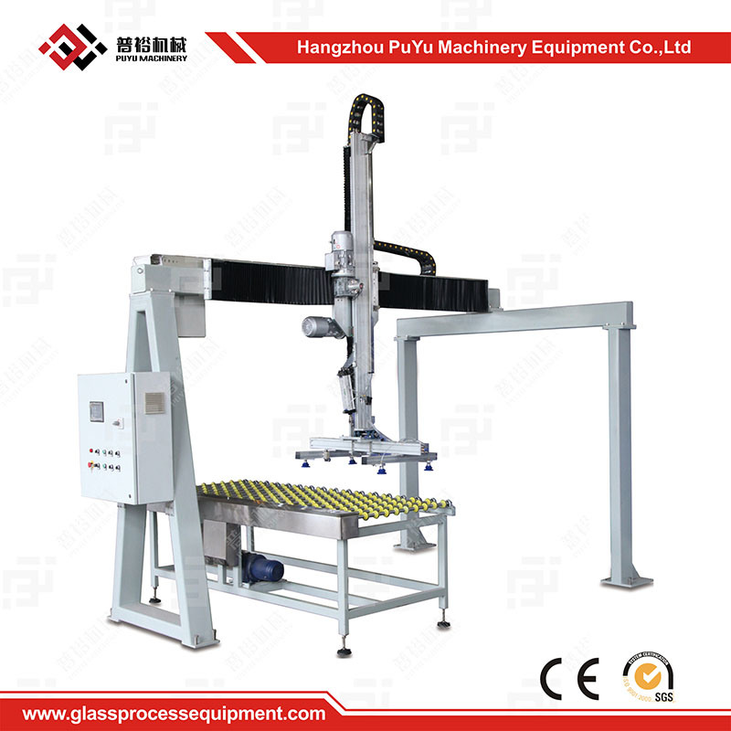 Automatic Glass Unloading Machine for Solar Glass