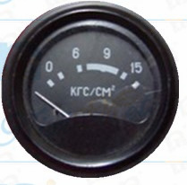 """3/8"""" 60mm 0-15 Oil Pressure Gauge with Inductance"""