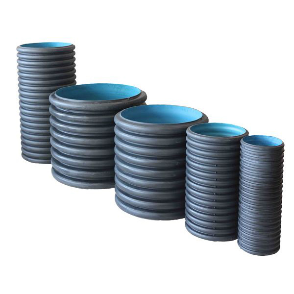 Sn4/Sn8 Grade Double Wall PE Corrugated Pipe/ Corrugated PE Pipe