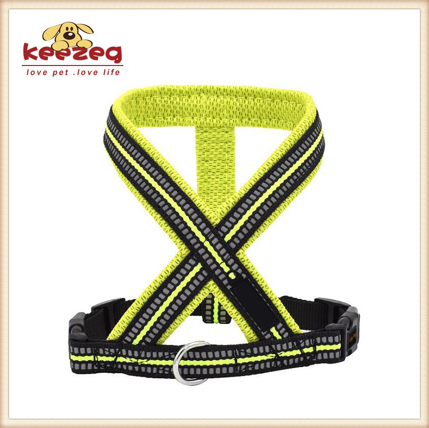 Soft & Comfort Reflective Pet Dog Harness/Quality Nylon (KC0105)