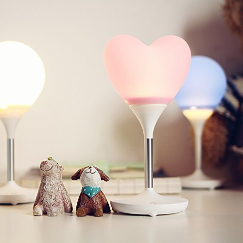 LED Night Light Touch Control Lamp Heart Light