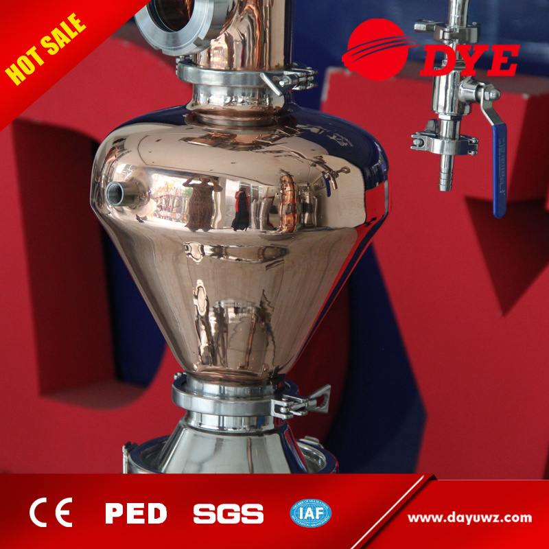 Wholsale Stainless Steel Red Copper Vodka Alcohol Distiller with Tower