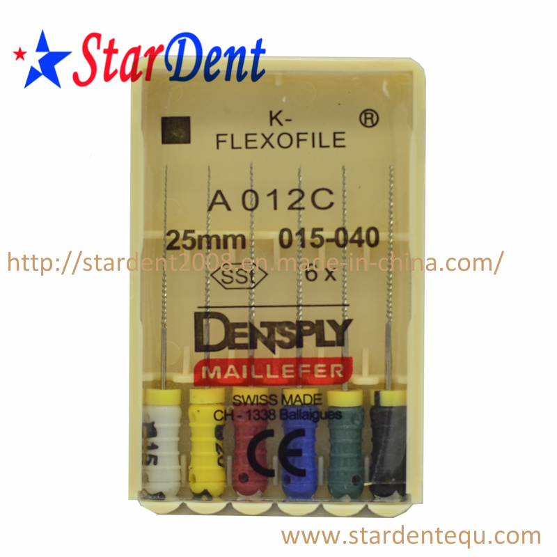 Dental Equipment Dentsply Maillefer K-File Instrument of Hospital Medical Lab Surgical Diagnostic Equipment