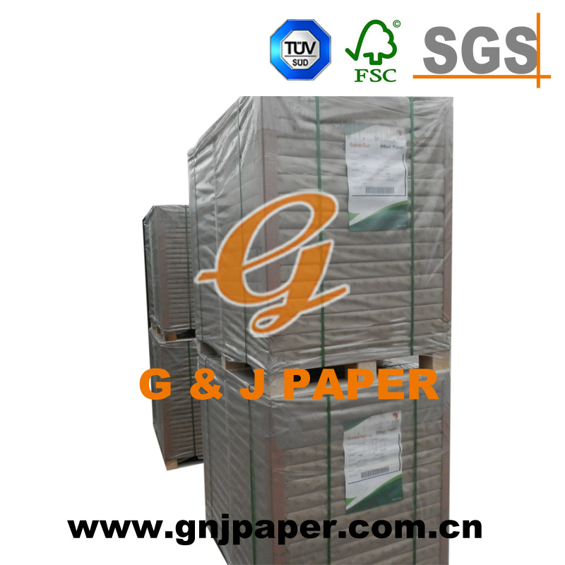 Virgin Pulp 55g/58g/60g Offset Paper for Notebook Printing