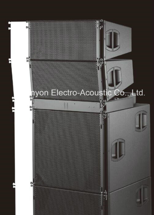 "V8 Dual 10"" Line Array System, PA System PRO Loudspeaker Line Array, Concerts Speaker Box"
