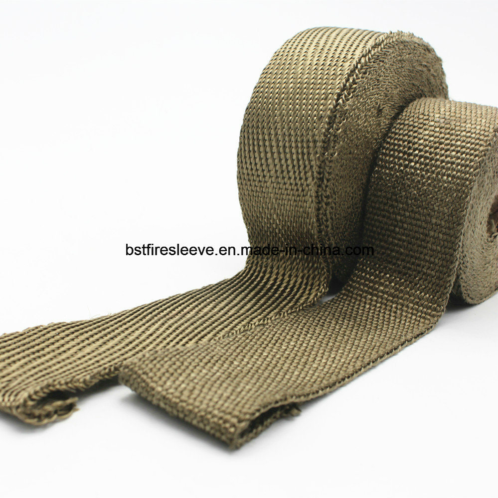 Heat Shield Titanium Exhaust Wrap Tape