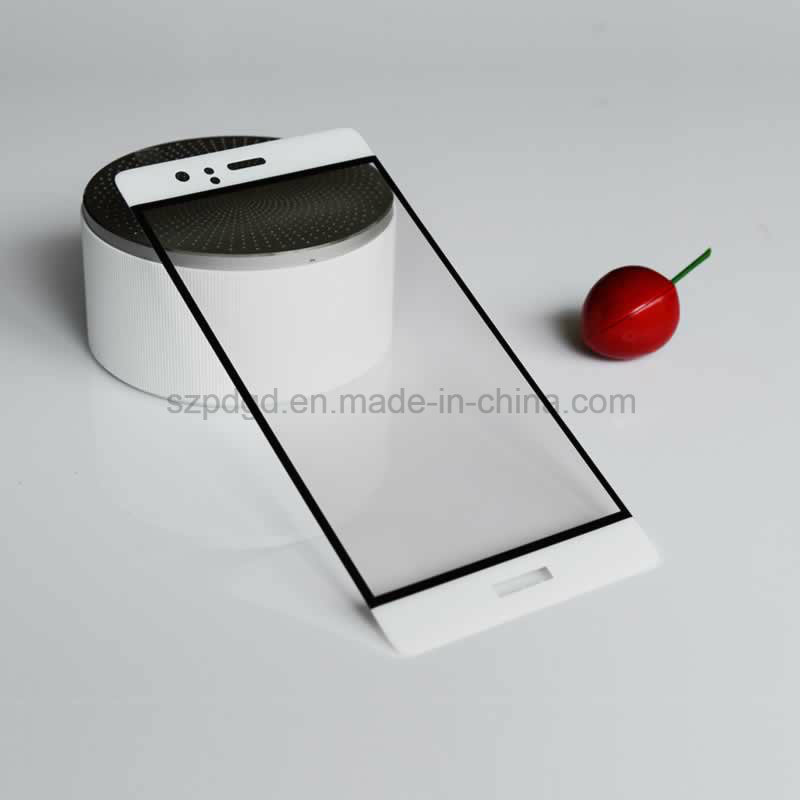 3D 9h Curved Edge Tempered Glass Screen Protector for Huawei P9 Screen Shield