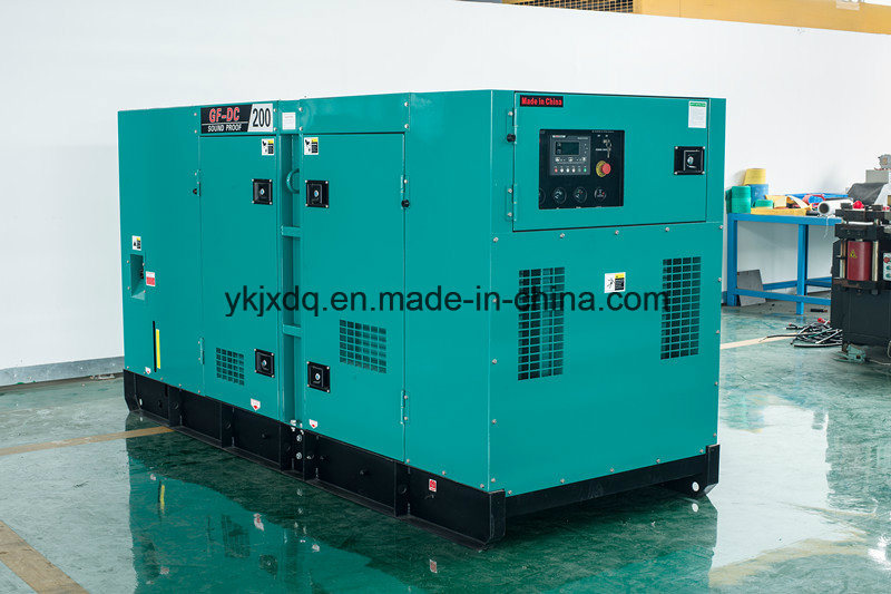 Silent Denyo Type 250kVA Diesel Power Generator with Cummins Engine