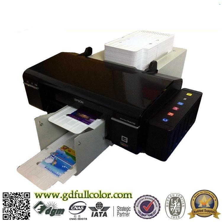 Printing Machines Auto Inkjet PVC Card Printer for 100 PCS PVC Card & 50 PCS CD Printing