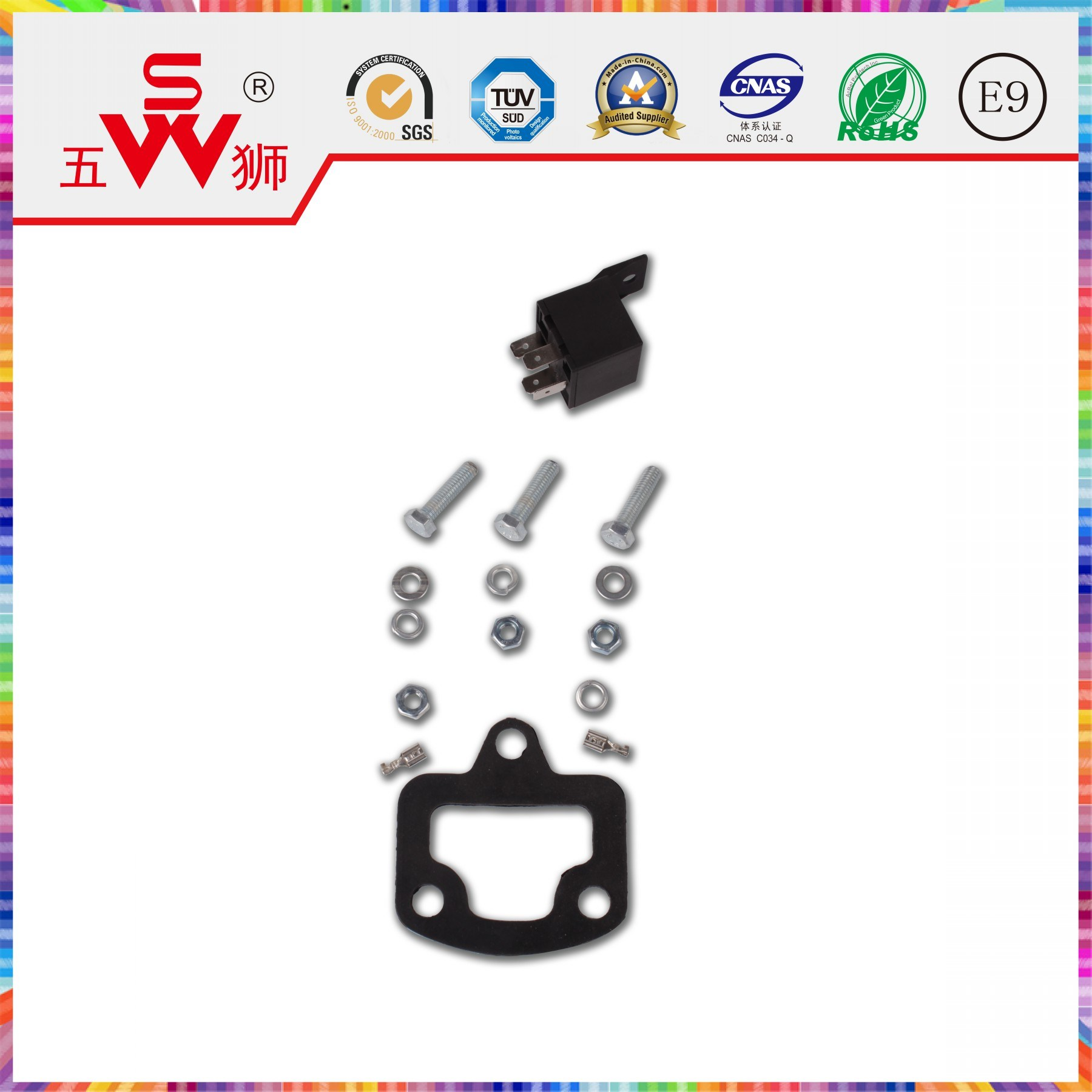 2-Way Speaker Car Speaker with Horn Motor