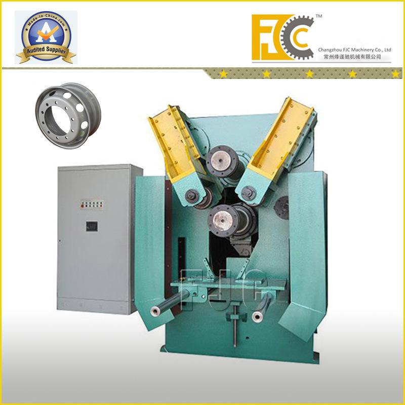 "Tubeless Wheel Rim Manufacturing Roll Forming Machine 17.5""-24.5"" Diameter"